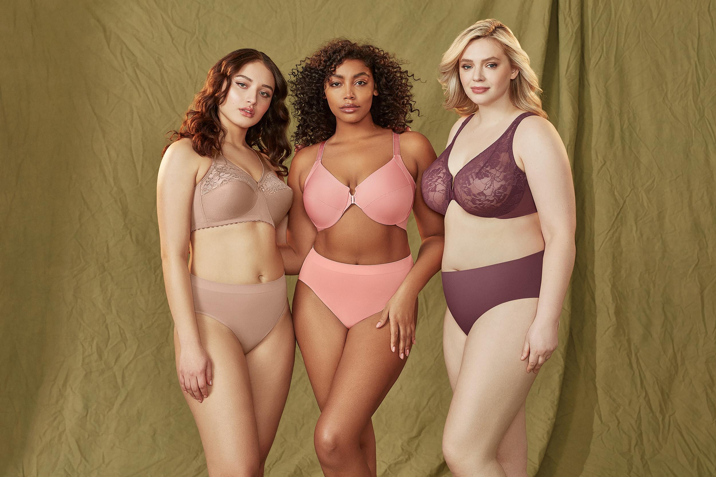 f6534b4e04 Glamorise Plus Size Bras   Lingerie for Full-Figured Women