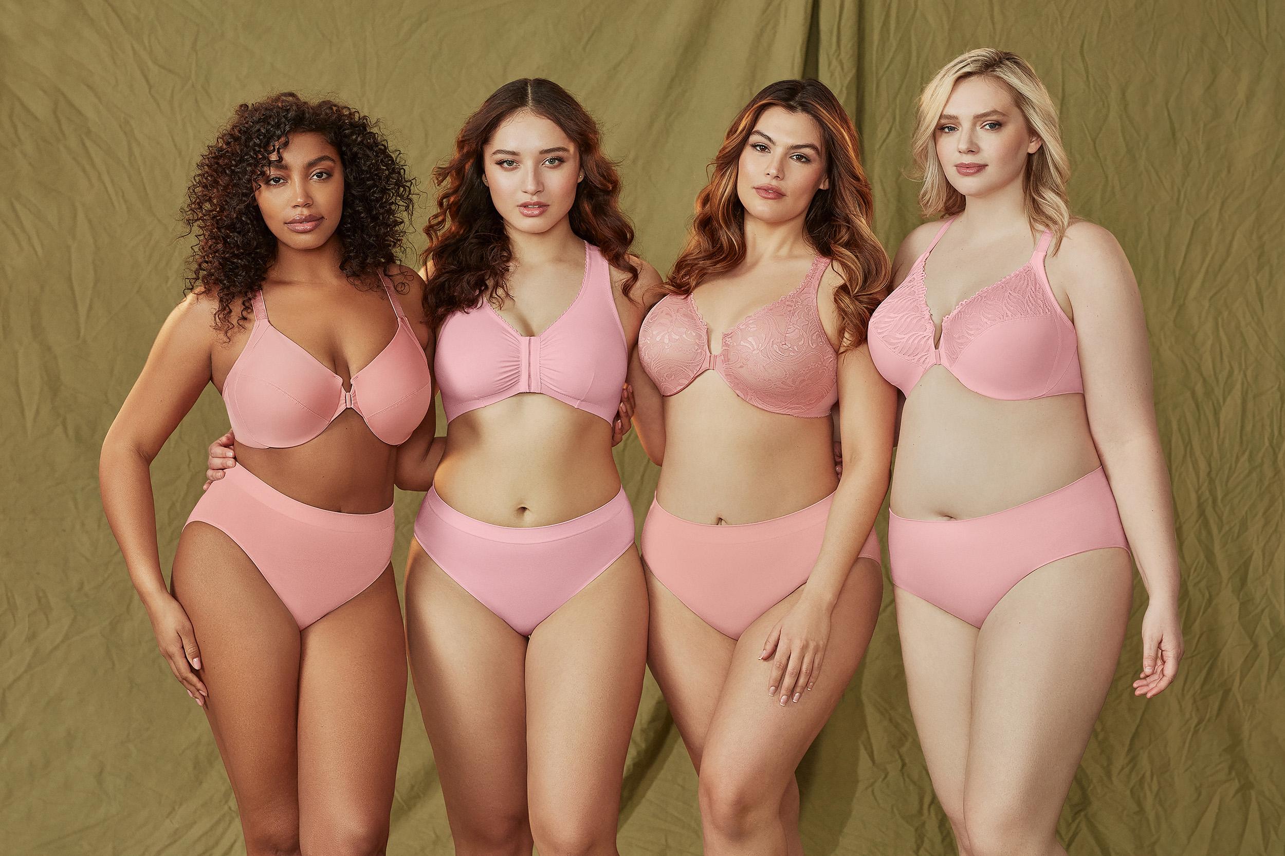 bc600077c032e Glamorise Plus Size Bras   Lingerie for Full-Figured Women